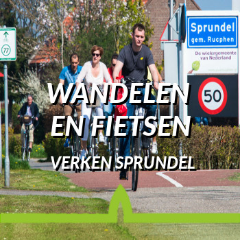 beleef sprundel - wandelen en fietsen