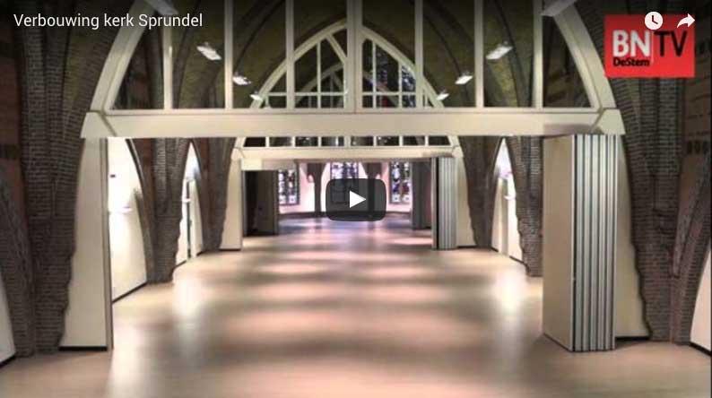 verbouwing kerk youtube